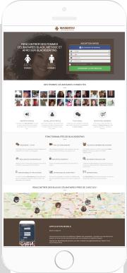Application Mobile Rencontres black, metisses et afros
